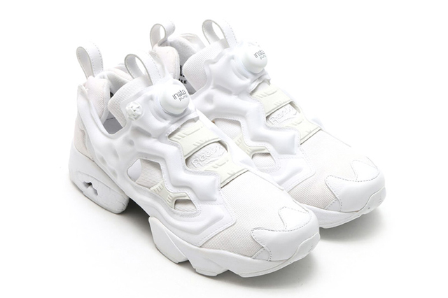 Reebok InstaPump Fury All White x Atmos 01