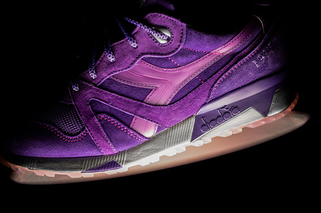 Diadora N9000 Purple Tape Packer Shoes Raekwon 03