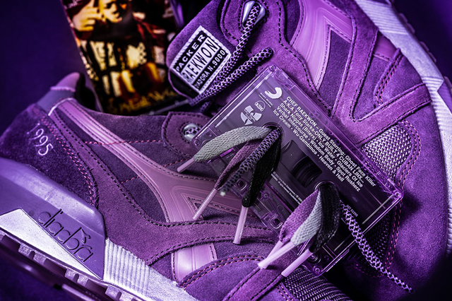 Diadora N9000 Purple Tape Packer Shoes Raekwon 07