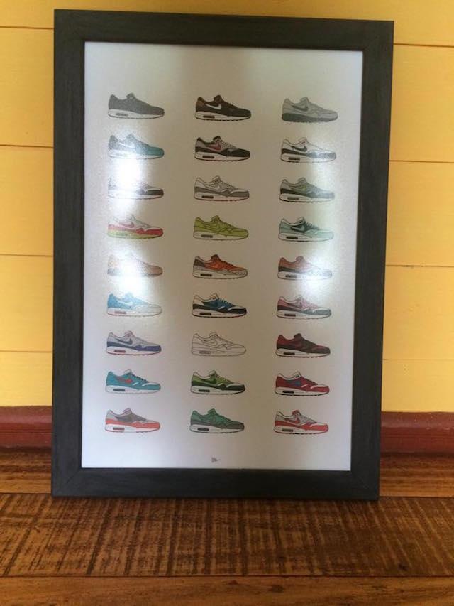 Ilustración sneaker HRSN 11