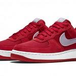 "Nike Air Force 1 ""Gym Red/Wolf Grey"""