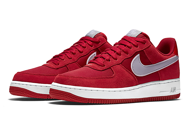 Nike Air Force 1 Gym Red Wolf Grey 01