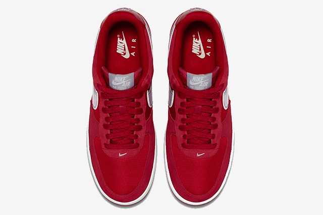 Nike Air Force 1 Gym Red Wolf Grey 04