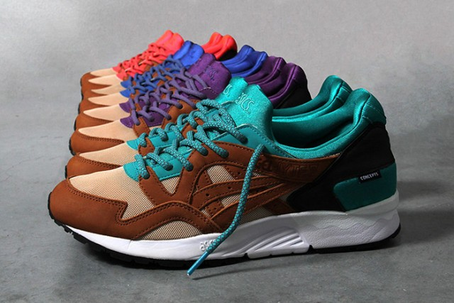 Asics Gel Lyte V Mix And Match Pack x Concepts 01