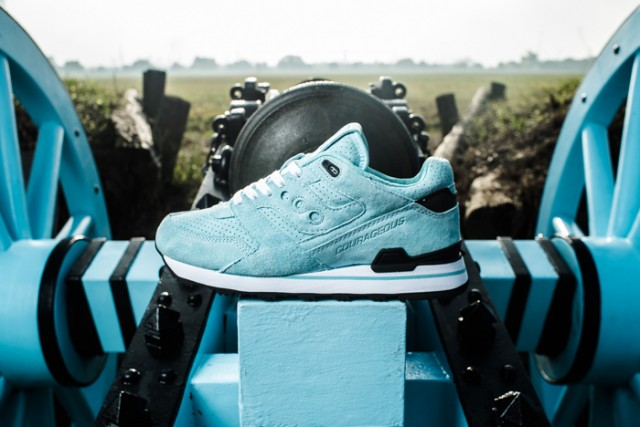 Saucony Courageous The Cannon x Sneaker Politics 01
