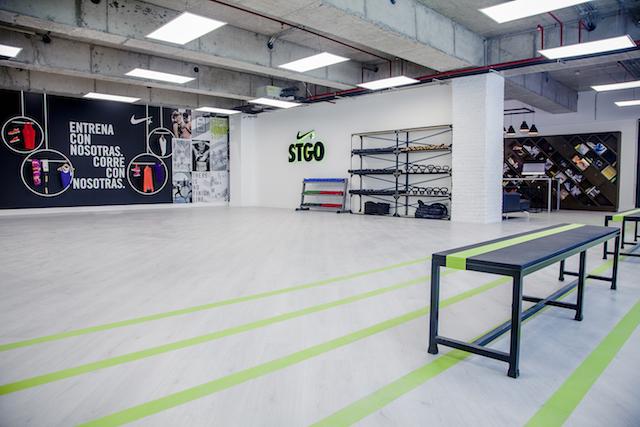 Inauguración Nike Womens Studio 01