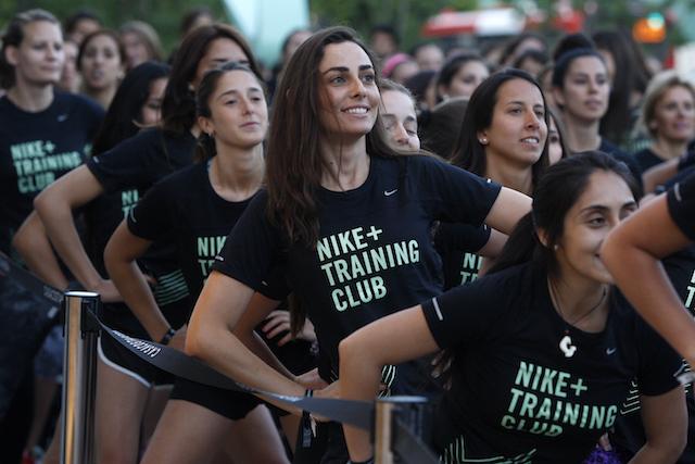 Santiago, 22 de noviembre del 2015. Evento Nike Women`s Studio. Paul Plaza/Coyotestudios.