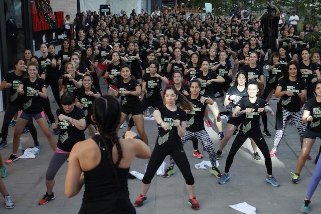 Inauguración Nike Womens Studio 12