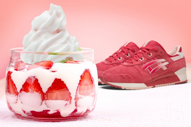 Asics Gel Lyte III Strawberries Cream 03
