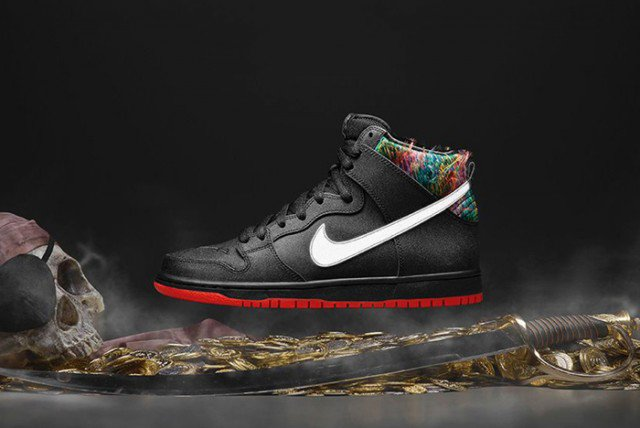 Nike SB Dunk High Pro Gasparilla x SPOT 02