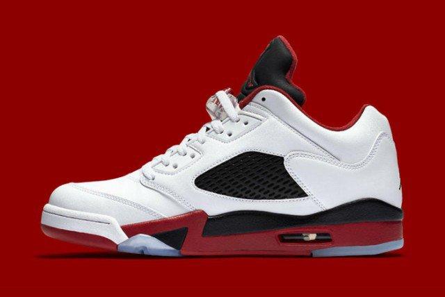 Air Jordan V Low Fire Red 03