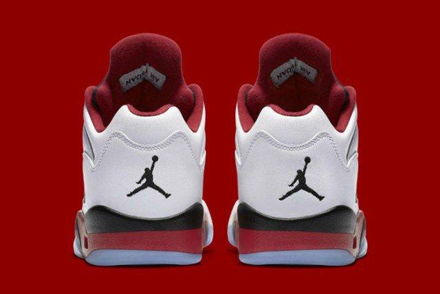 Air Jordan V Low Fire Red 05