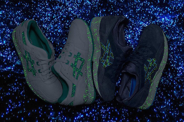 Asics Gel Lyte Maldives Pack Glow in the Dark 01
