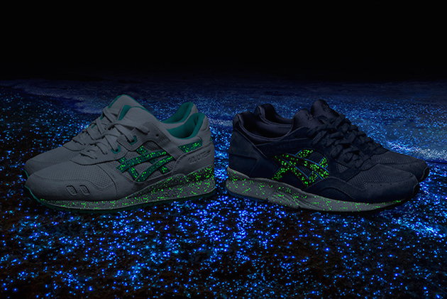 Asics Gel Lyte Maldives Pack Glow in the Dark 05