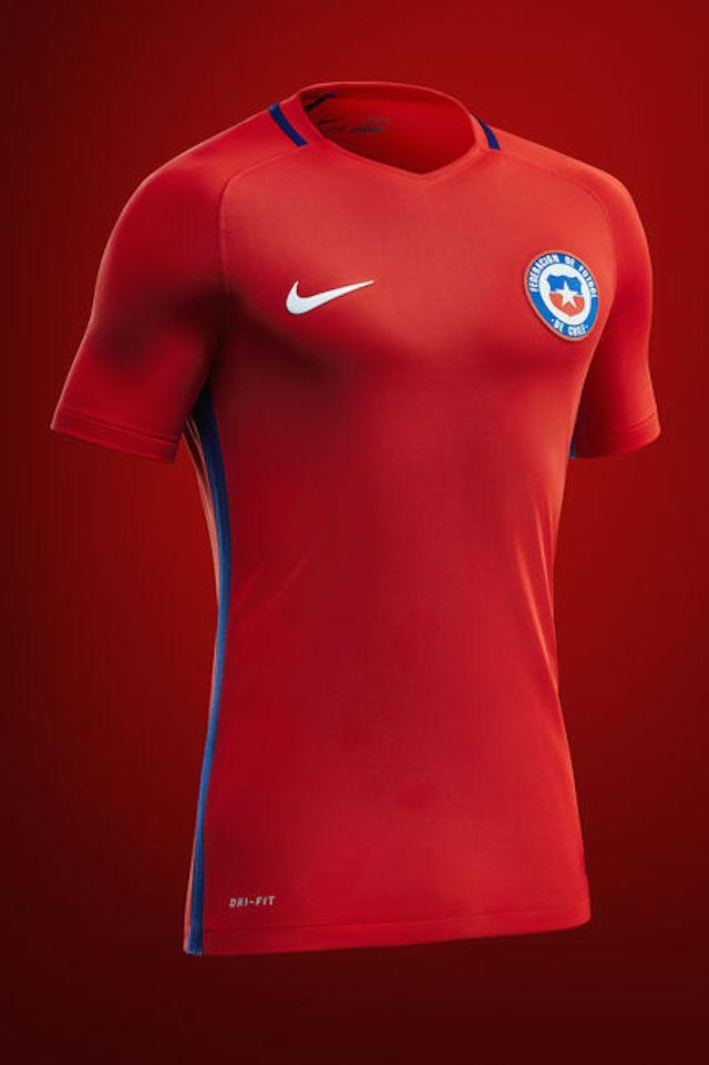 Camiseta Nike Chile 2016 01