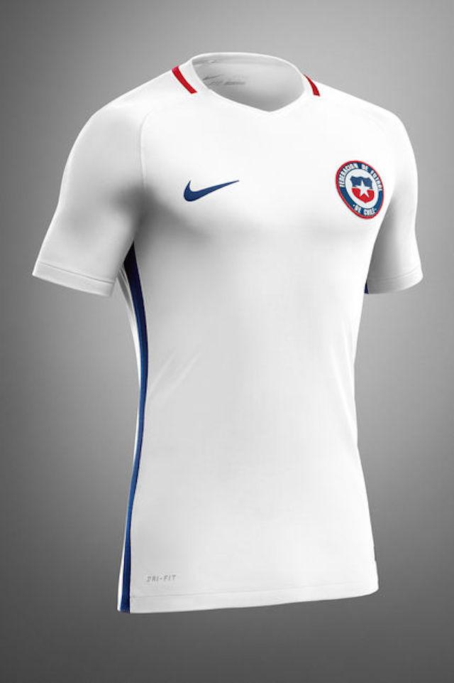 Camiseta Nike Chile 2016 02