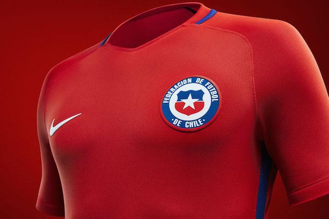 Camiseta Nike Chile 2016 03