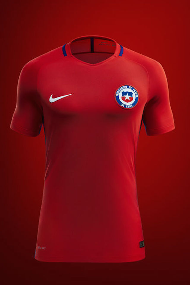 Camiseta Nike Chile 2016 05