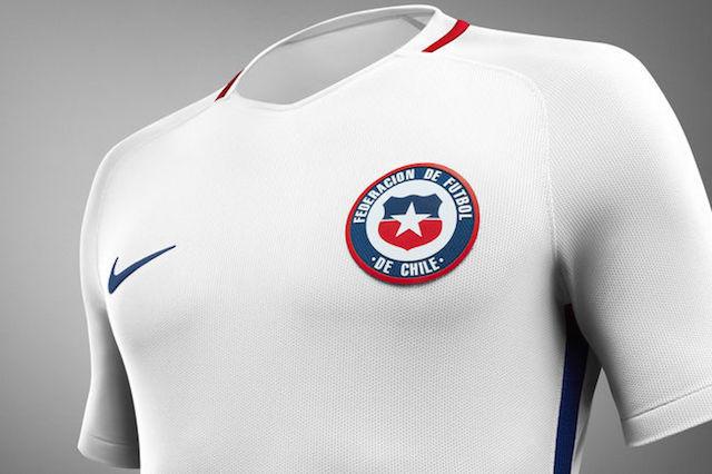 Camiseta Nike Chile 2016 06