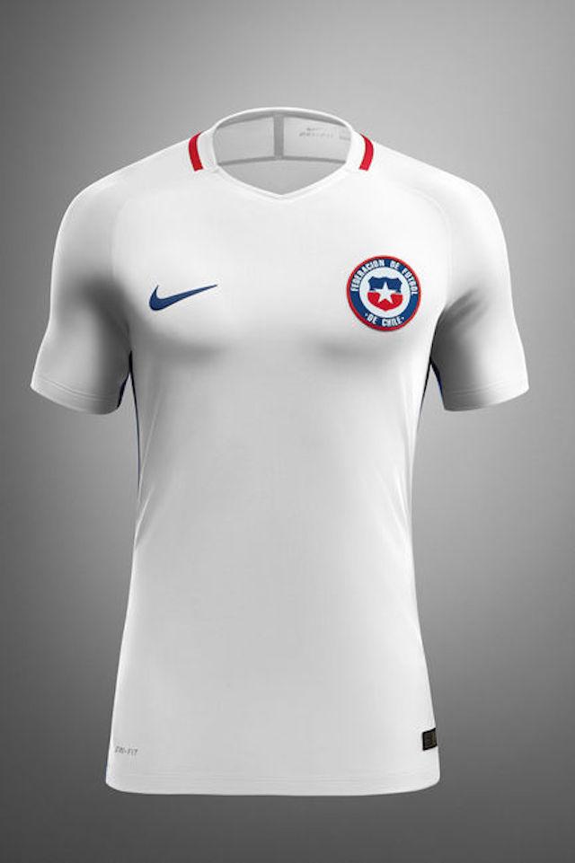 Camiseta Nike Chile 2016 08