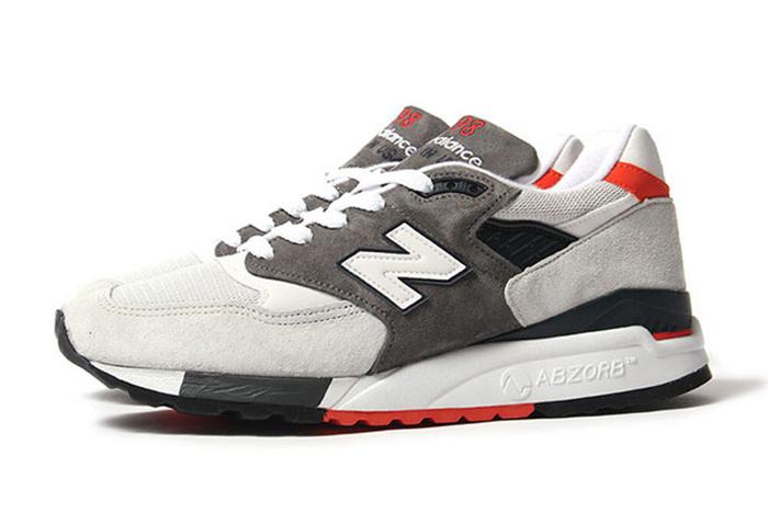 New Balance 998 Grey Orange 01