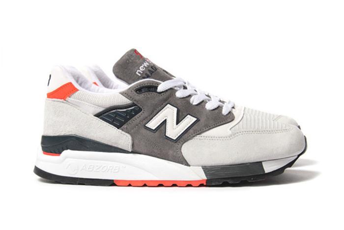 New Balance 998 Grey Orange 03