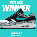 "The Winners is: Nike Air Max 1 ""Elephant"" x ATMOS"