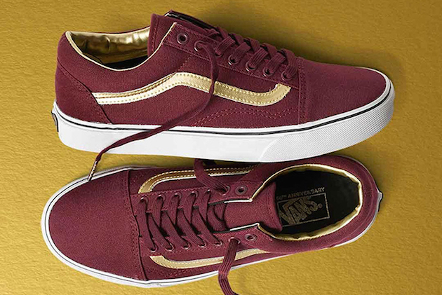 Vans 50th Anniversary Gold Collection 02