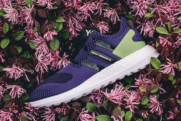 Adidas Y3 Pure Boost ZG Knit Purple Green 01