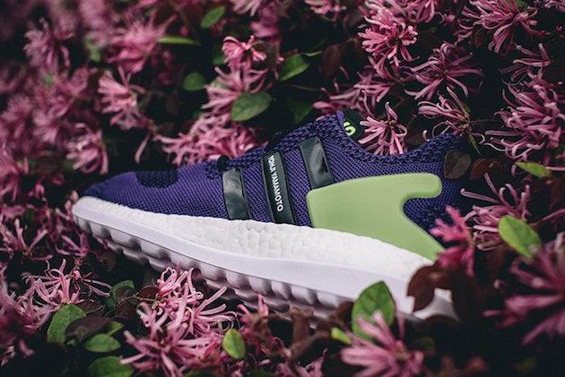 Adidas Y3 Pure Boost ZG Knit Purple Green 02