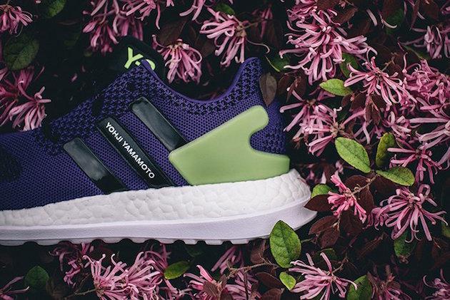 Adidas Y3 Pure Boost ZG Knit Purple Green 05