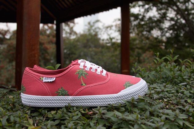 Volley OC Palm Tree Red 07