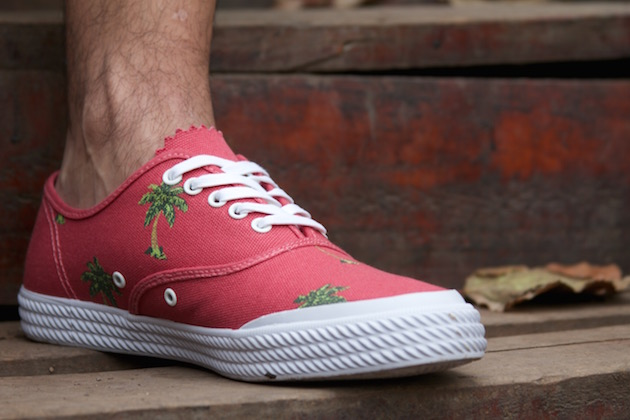 Volley OC Palm Tree Red 10