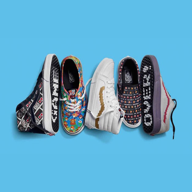 Vans Collection x Nintendo 01