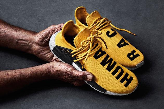 "Adidas NMD ""Human Race"" x Pharrell Williams 01"