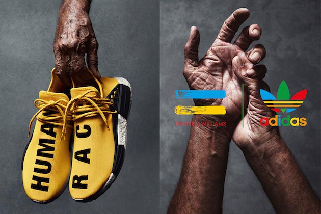 "Adidas NMD ""Human Race"" x Pharrell Williams 03"