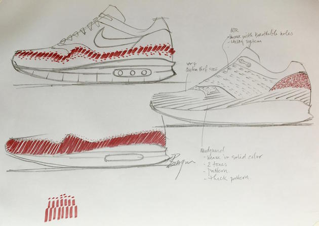 Ben Yun Nike Air Max 1 Flyknit 01