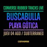 Converse Rubber Tracks Live trae a Chile a Buscabulla