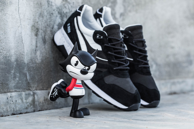 "Diadora N9000 ""Felix the Cat"" x BAIT x Dreamworks 01"