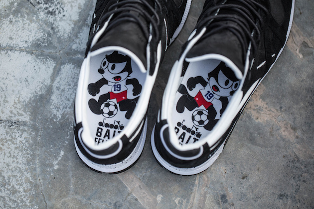 "Diadora N9000 ""Felix the Cat"" x BAIT x Dreamworks 05"
