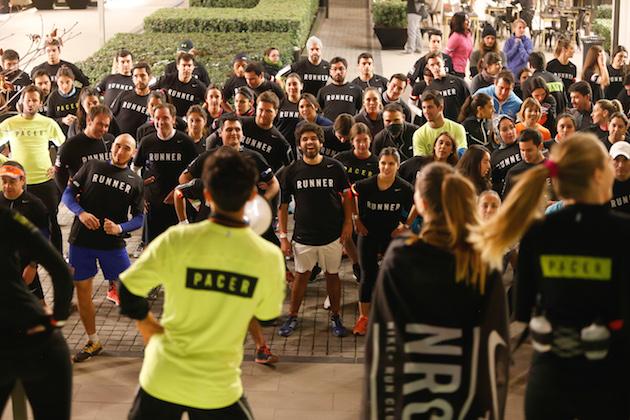 Santiago, 7 de julio de 2016. Lanzamiento Nike Running Club en Casa Costanera.****SOLO USO EDITORIAL**** Paul Plaza/Coyotestudios. +56962383044
