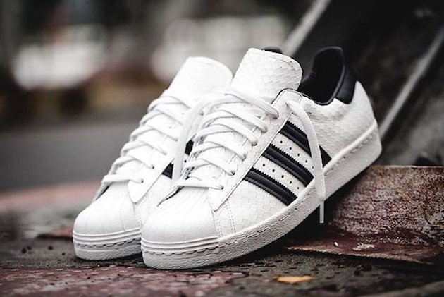 "hot sale online bedea bef90 Adidas Superstar 80s ""Snakeskin"""