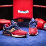 "Saucony Grid 9000 ""Sparring with Saucony Sneaks"""