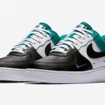 "Nike Air Force 1 Mini Swoosh ""Neptune Green"""