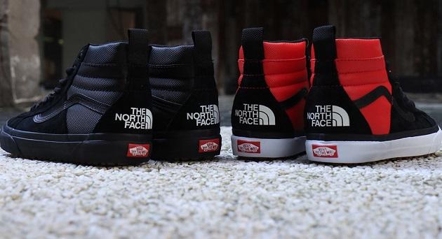 vans north face zapatillas