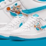 """Nike Air Force 1 """"Hare"""" x Space Jam"""