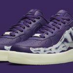 """Nike Air Force 1 """"Purple Skeleton"""""""