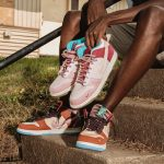 "Nike Dunk Mid ""Strawberry Milk"" x Social Status"
