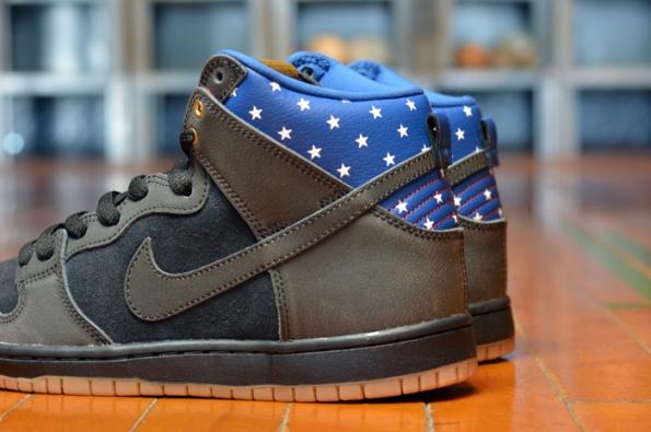 Nike SB Dunk HI Premium Captain America 03