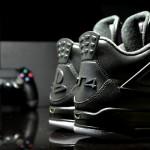 """Air Jordan 4 """"PS4″ Custom"""